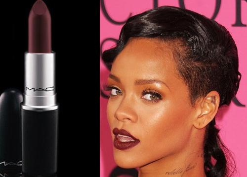 Belle vampy lipstick for Mac cosmetics diva lipstick